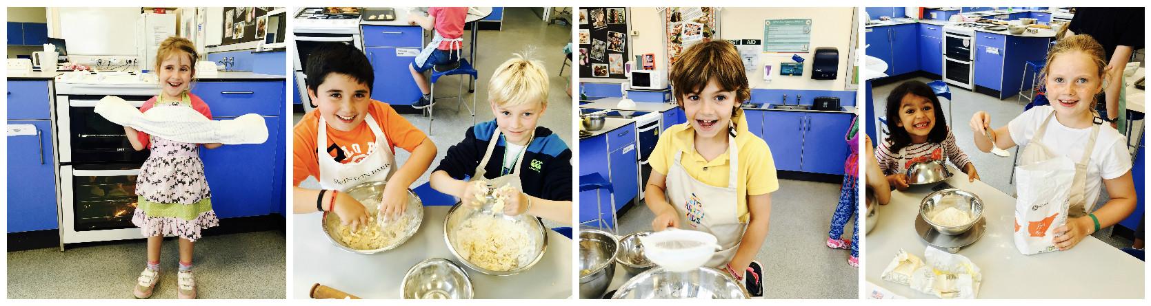 Stir Krazy Kids - happy bakers