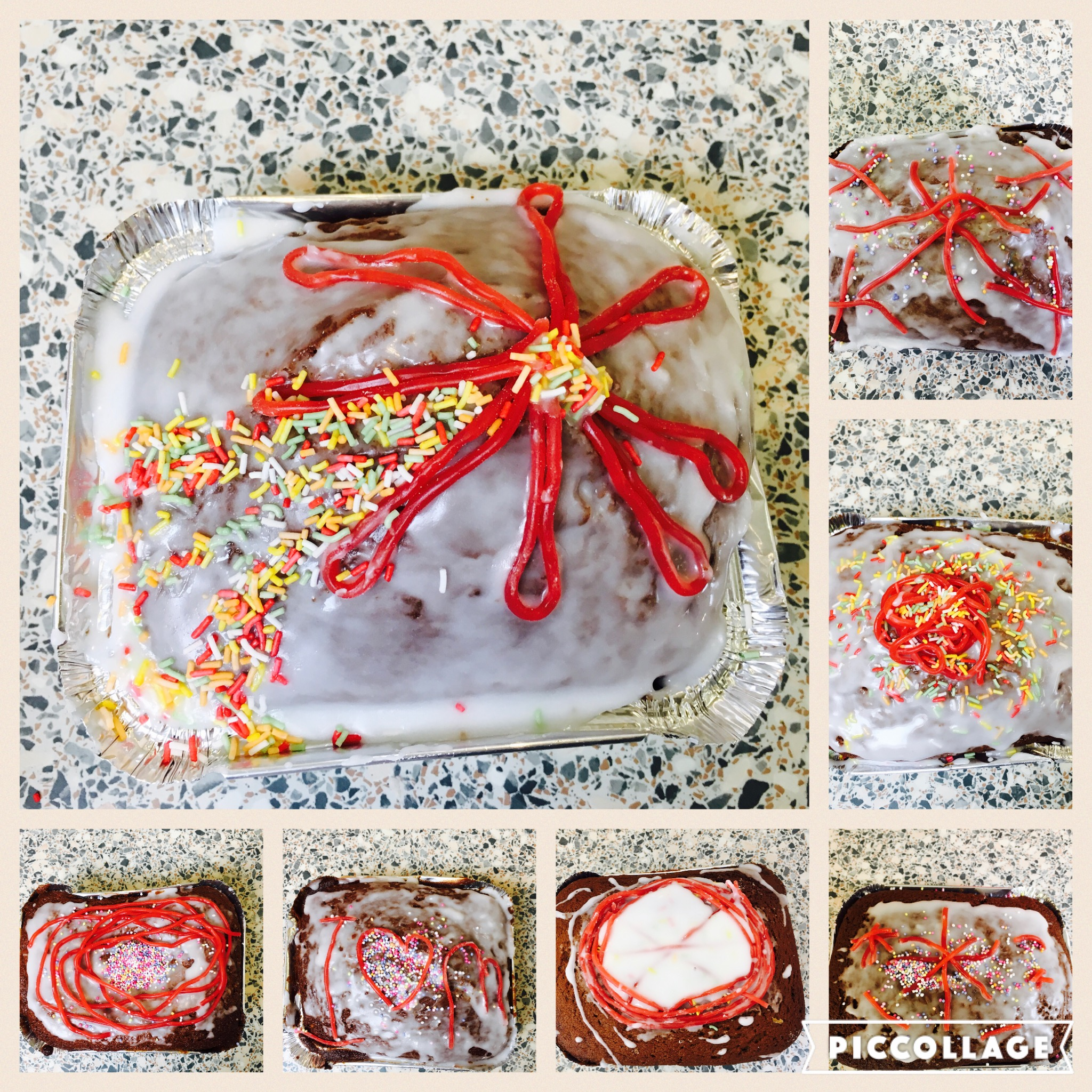 Our individually decorated Whizzbang Firework Traybakes!