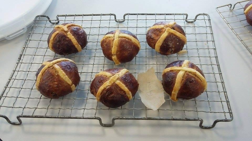 Stir Krazy Kids hot cross buns