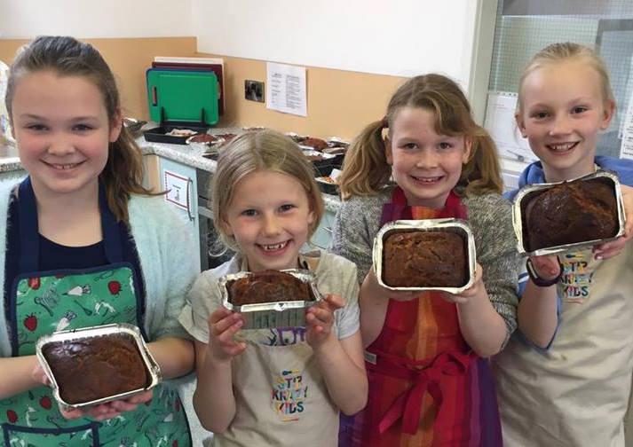 Stir Krazy Kids carrot cake
