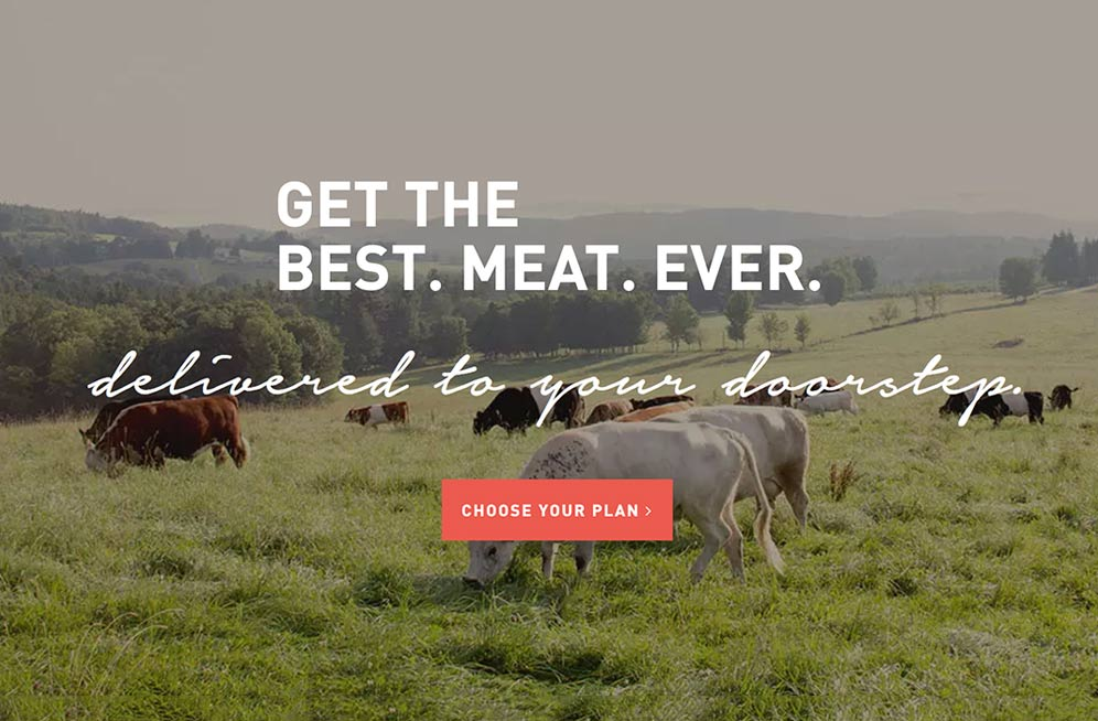 Your Trusted Source For 100% Grass-Fed Beef Online. - Food is information for our body. It is so easy to focus on quantity and not quality. Meat sources are not all equal. This is a source for premium meat - 100% Grass-fed & Grass-finished Beef, Heritage Breed Pork, Free-range Organic Chicken that is all personally taste-tested. I fully believe there is a difference in nutritional impact of these vs other products and I know that there is a difference in taste. Yum! (Link below gets you free meat too!)