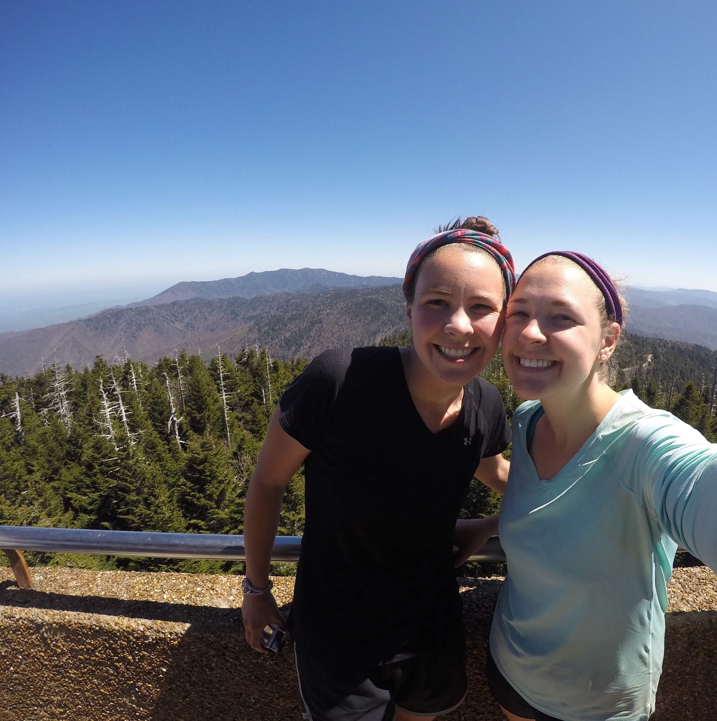 Clingman's Dome- the highest point on the entire AT!
