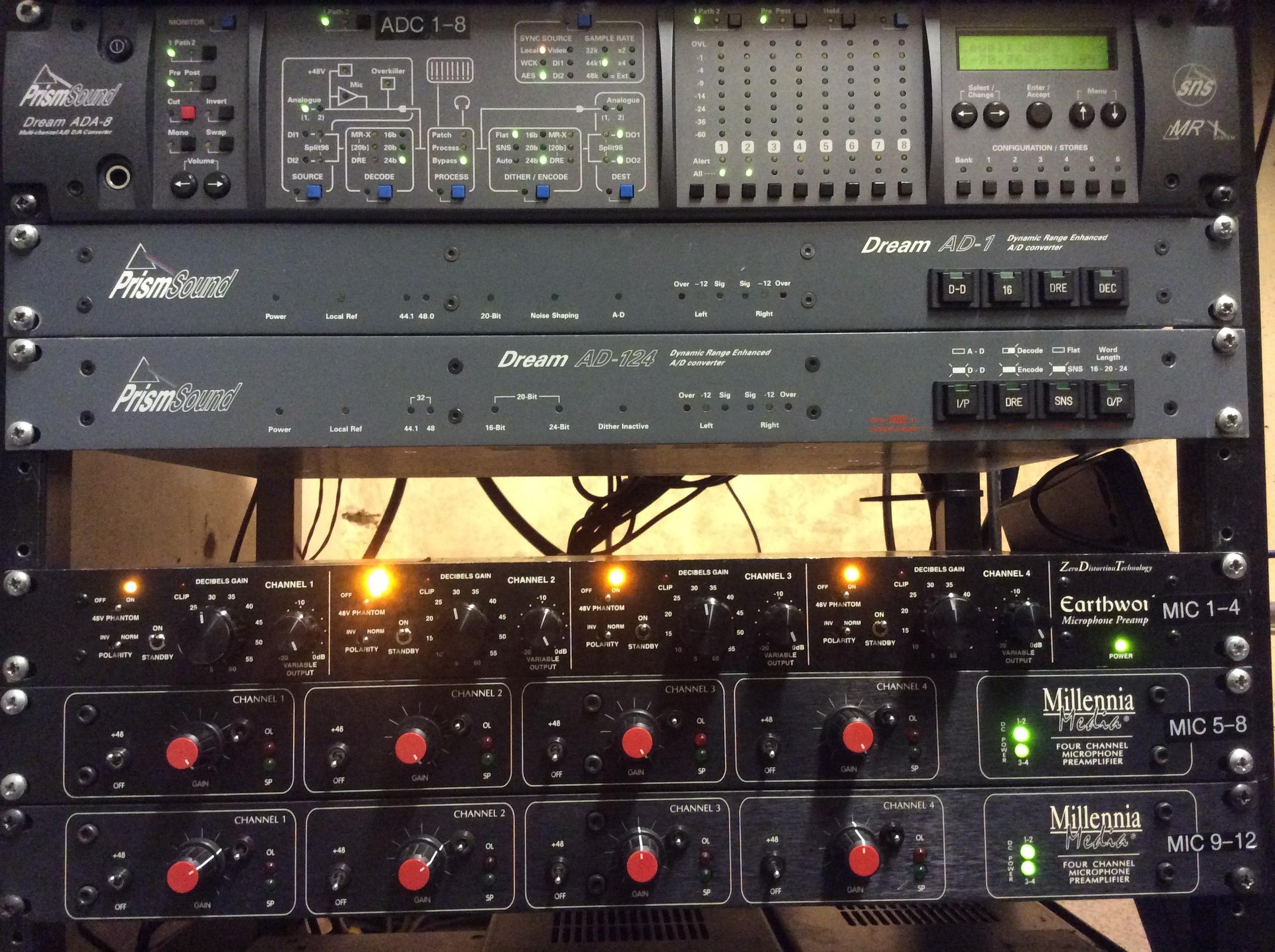 Glyndebourne recording equipment