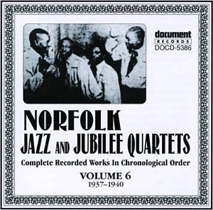 Document Records Norfolk Jubilee Quartet