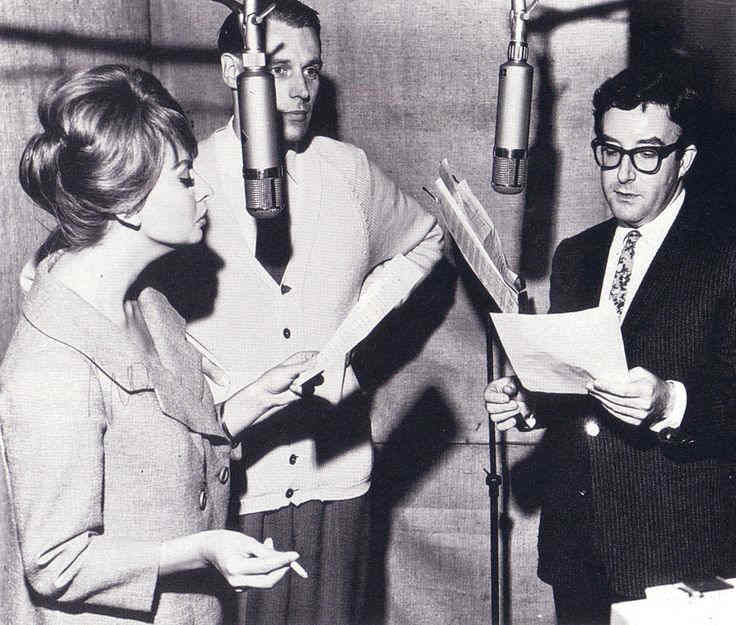 George Martin Peter Sellers Sophia Loren Abbey Road Studios EMI Parlophone