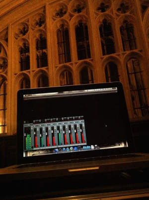 Recording King's College Chapel