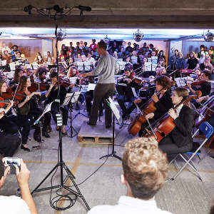 Multi-Story concert season  Orchestral concerts recorded live in Peckham Rye Multistorey Car Park