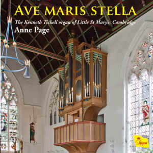 Anne Page - Ave Maris Stella  (Regent Records,2014)  Assistant engineered by Myles Eastwood