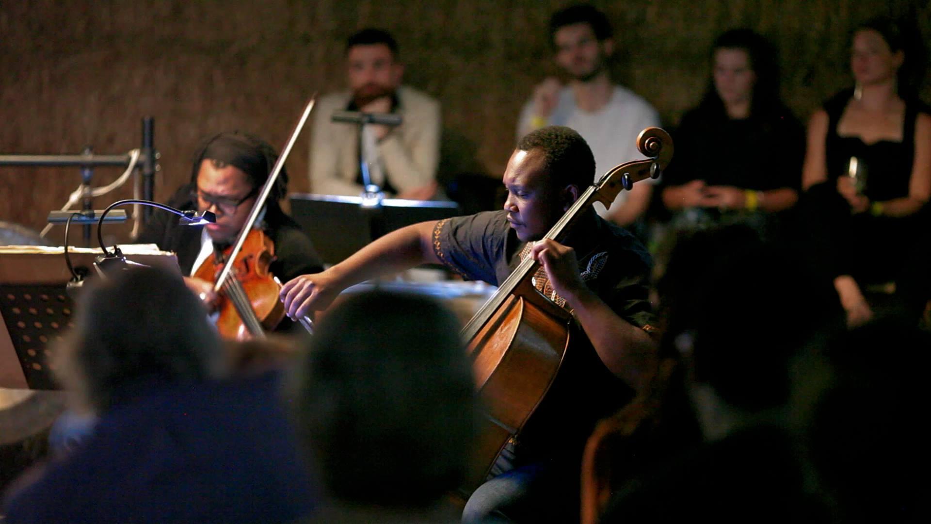 Multi-Story String Quartet Peckham Car Park Bold Tendencies