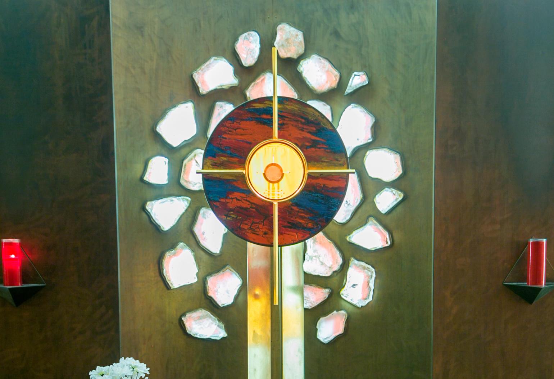 Adoration Chapel: Tabernacle