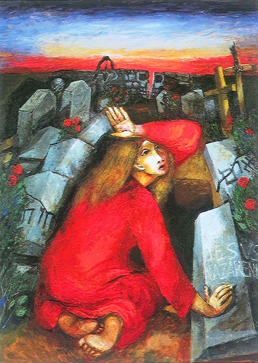 Mary Magdalene at the Grave (Sieger Koeder)