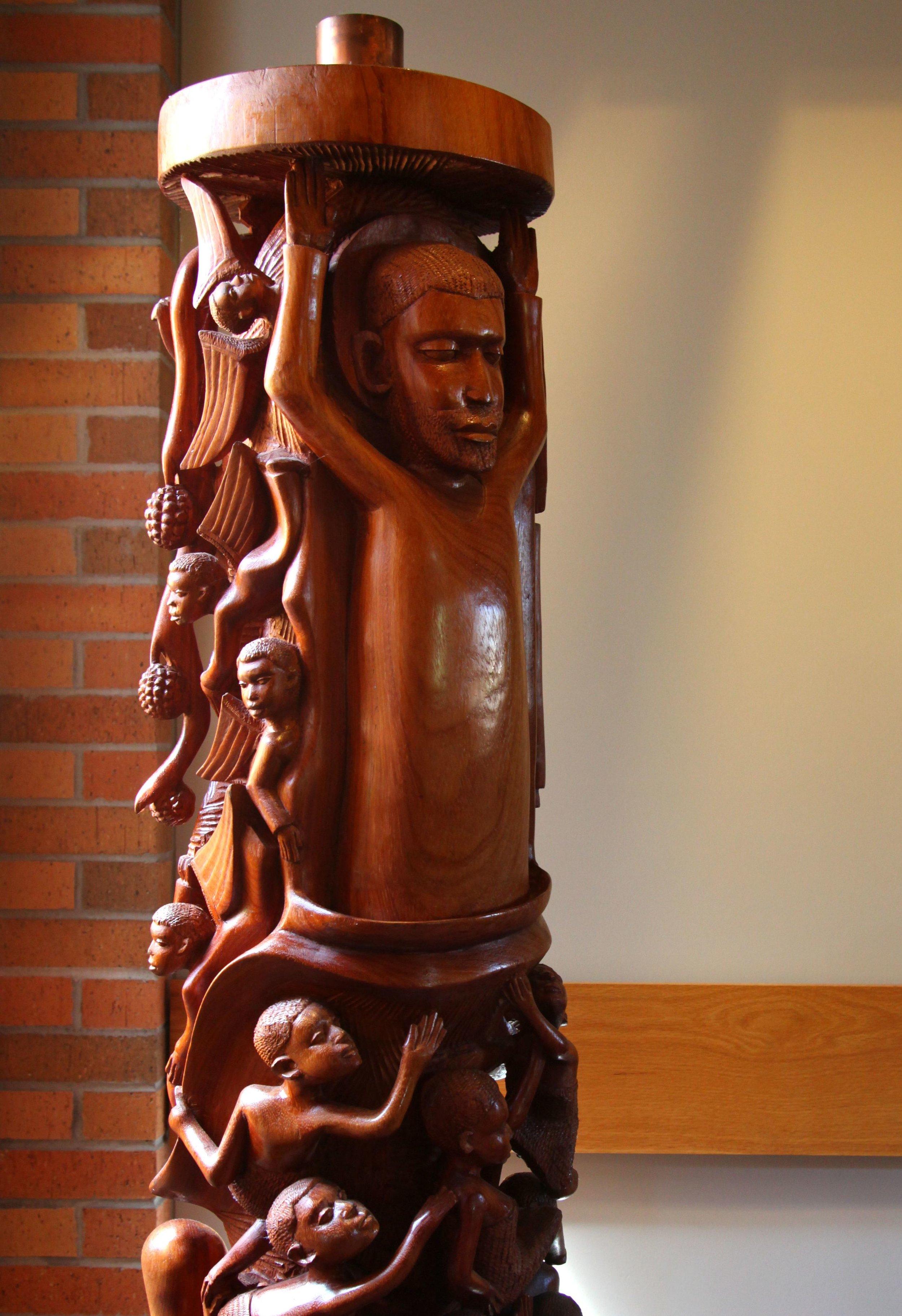 Makonde Easter Candle