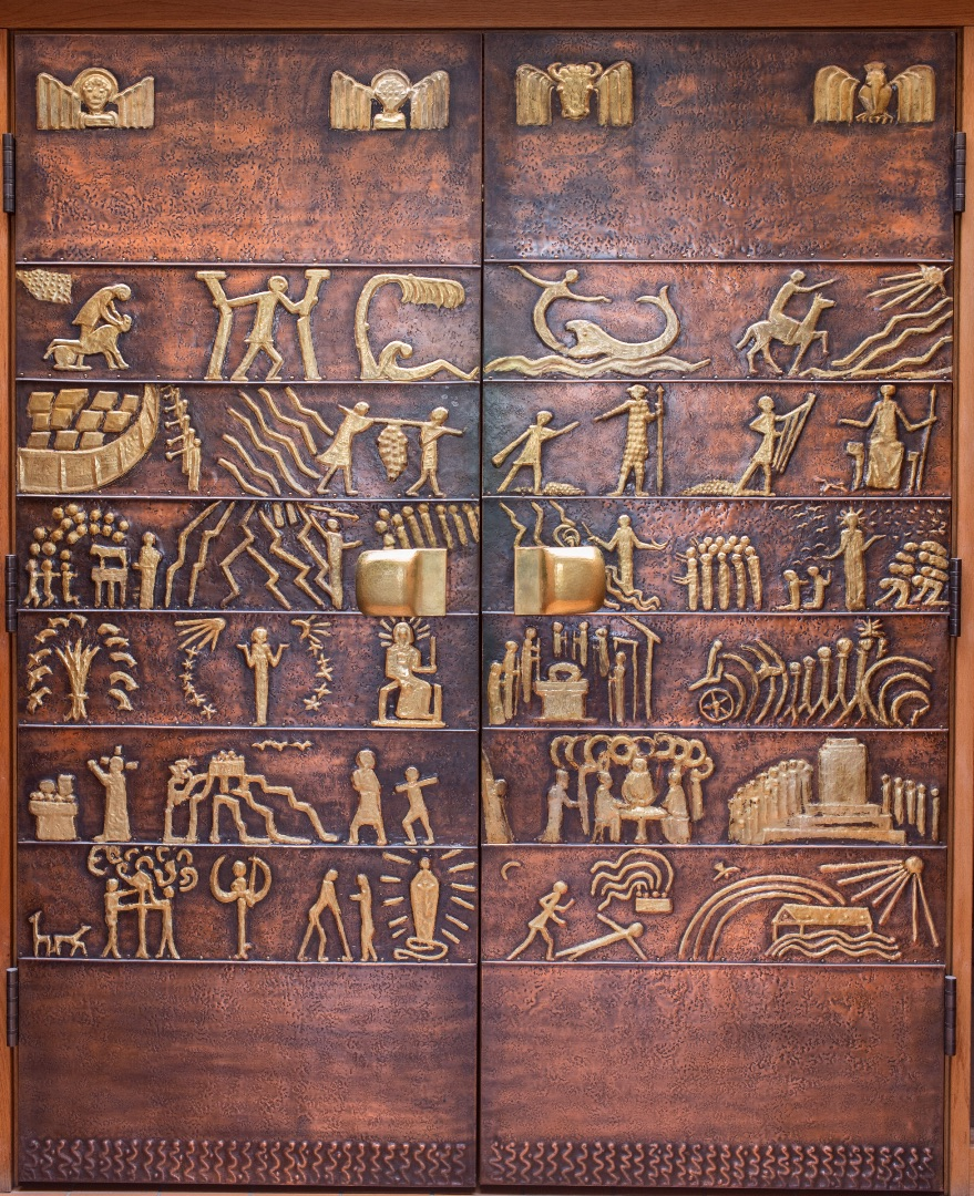 Christ the King Priory Chapel Doors