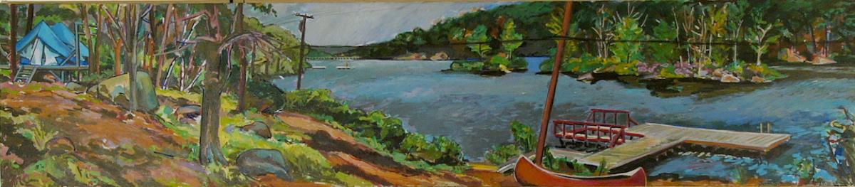 "Pal. Lake Kanawaukee '81 24x111"" ac/c"