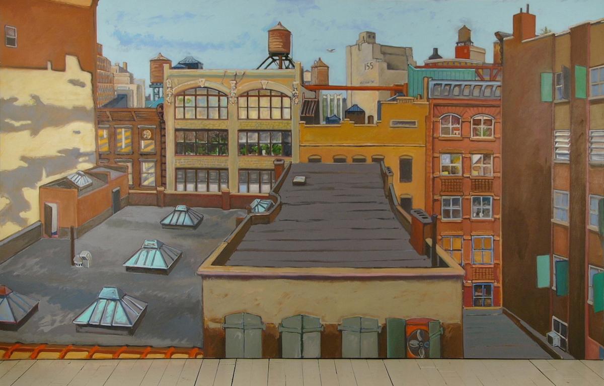 "Wooster Street '93 71x121"" ac/c"