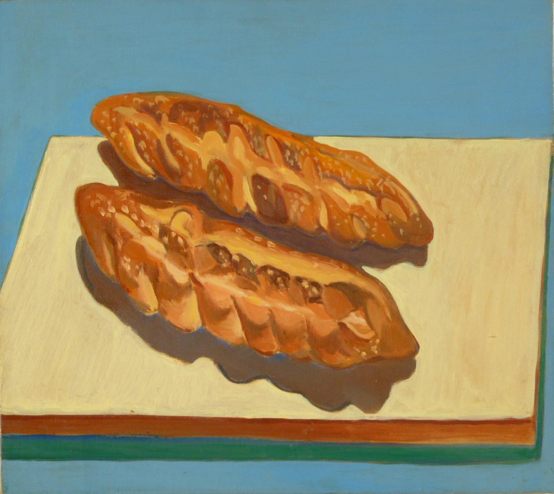 "NYC.  Italian Bread '66 22x25"" o/c"