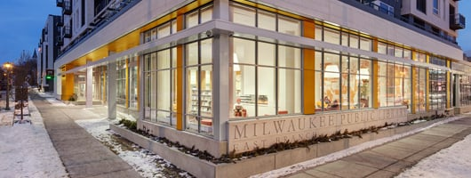 The Milwaukee Public LIbrary East Branch
