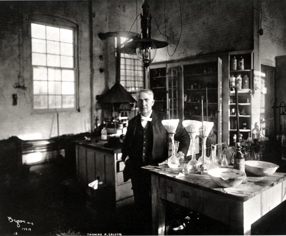 Thomas Edison courtesy of the U.S. Department of the Interior