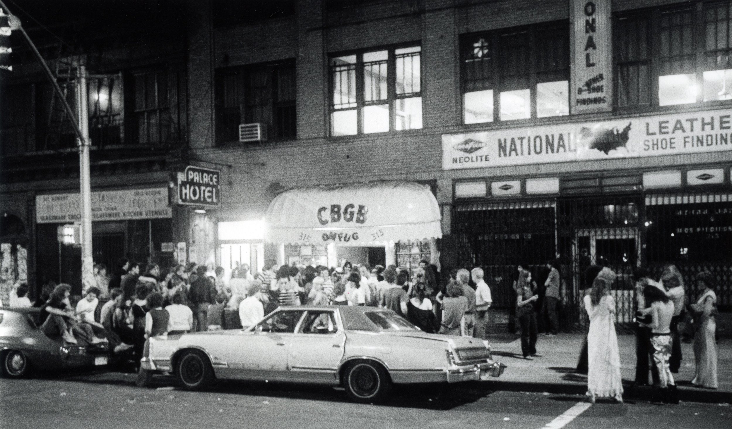 The Bowery 1977