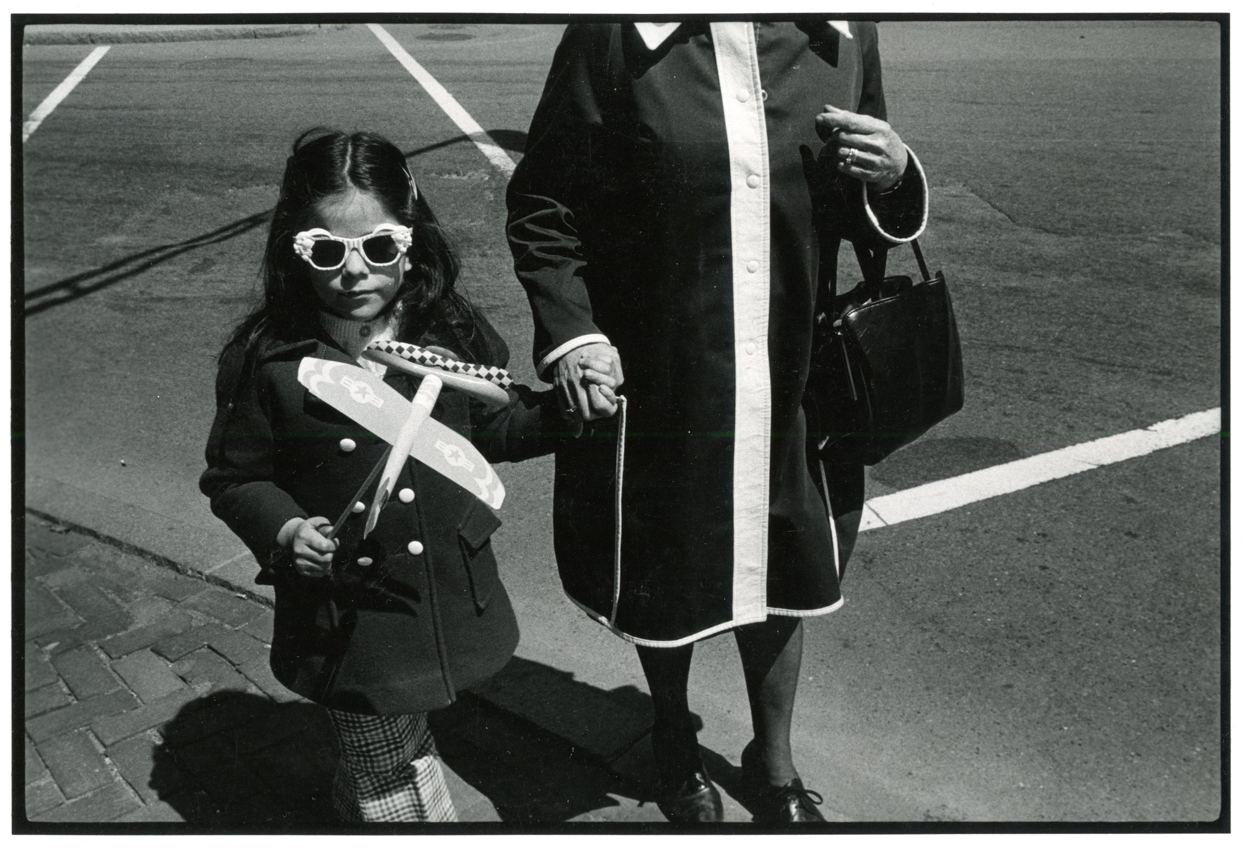 Kid With Airplane,, Boston 1974