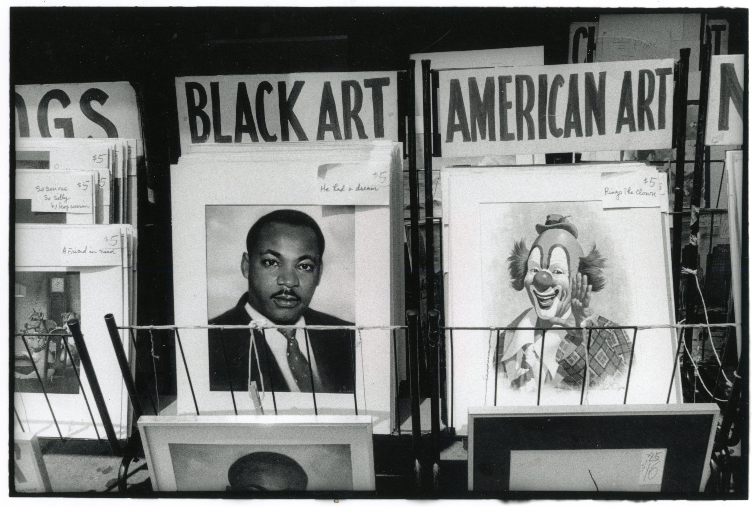 Black Art American Art, Times Square 1980