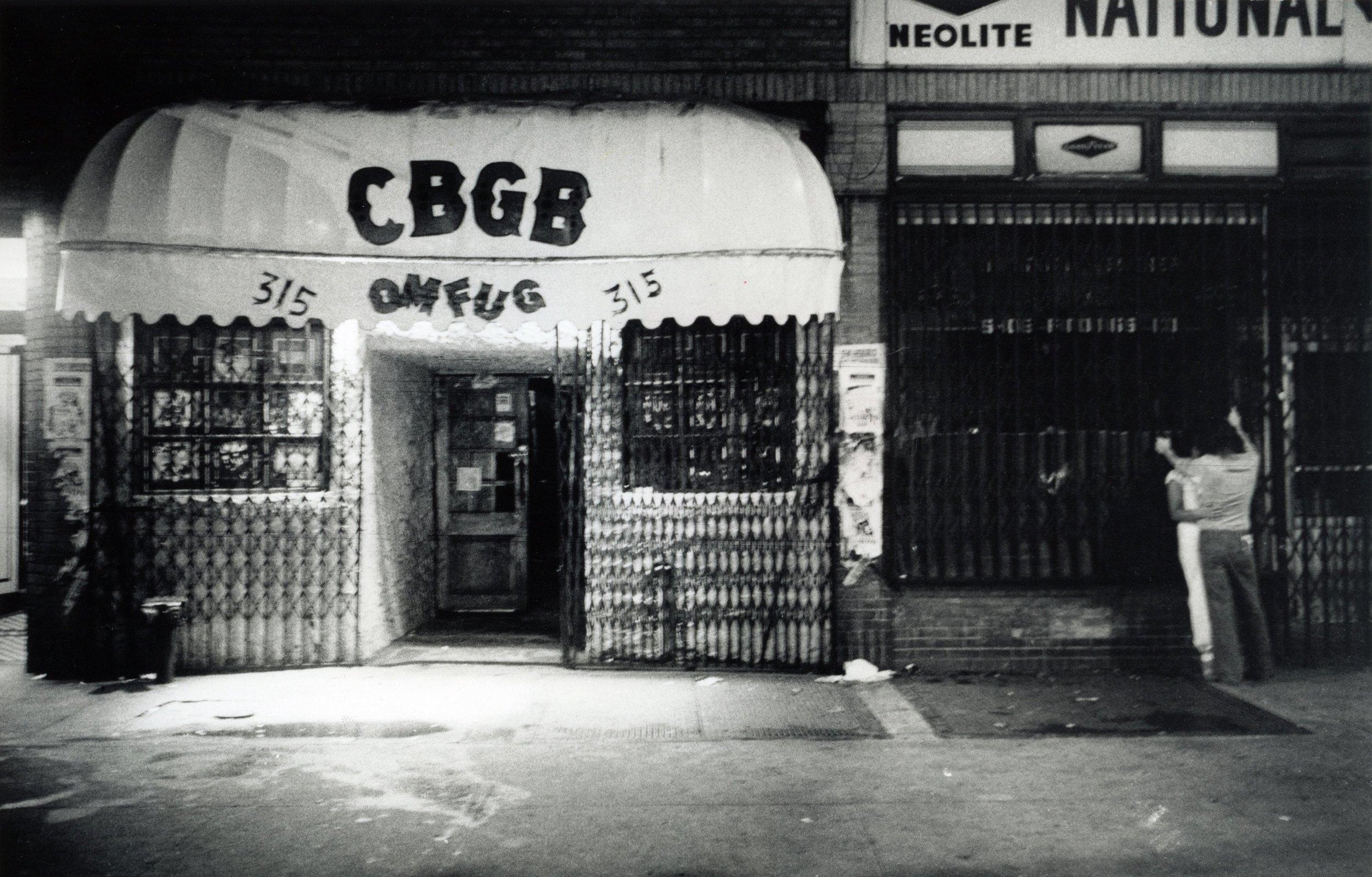 CBGB 1977