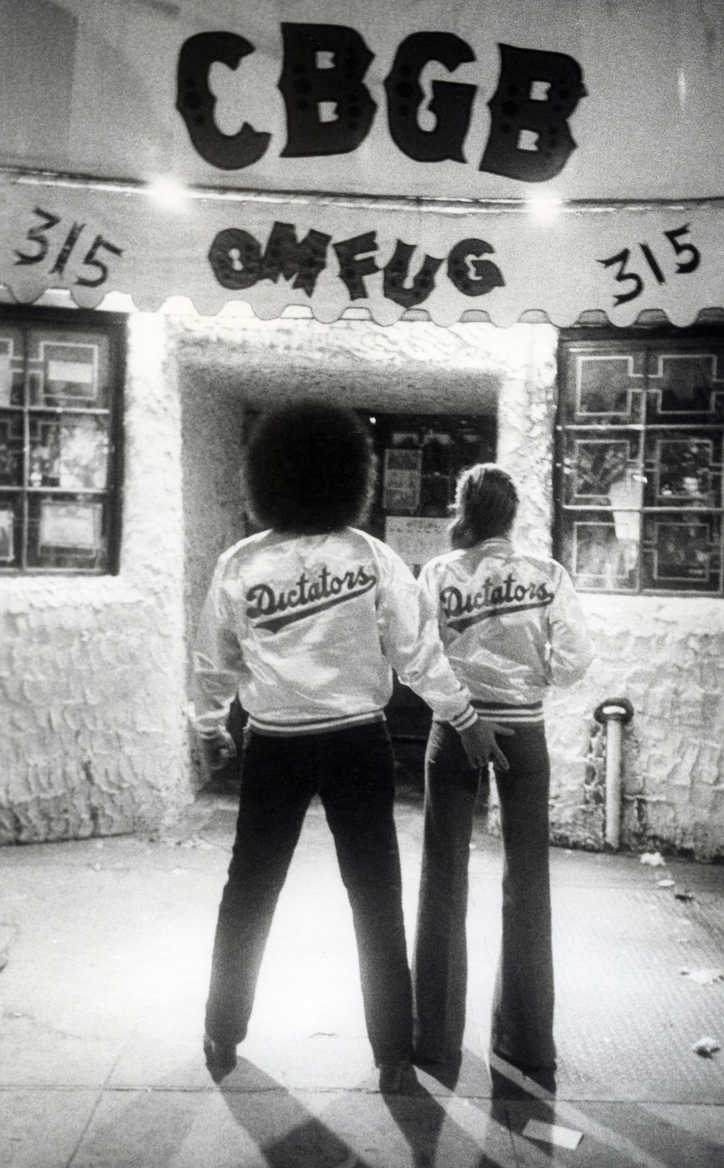Dictators, Bowery 1976
