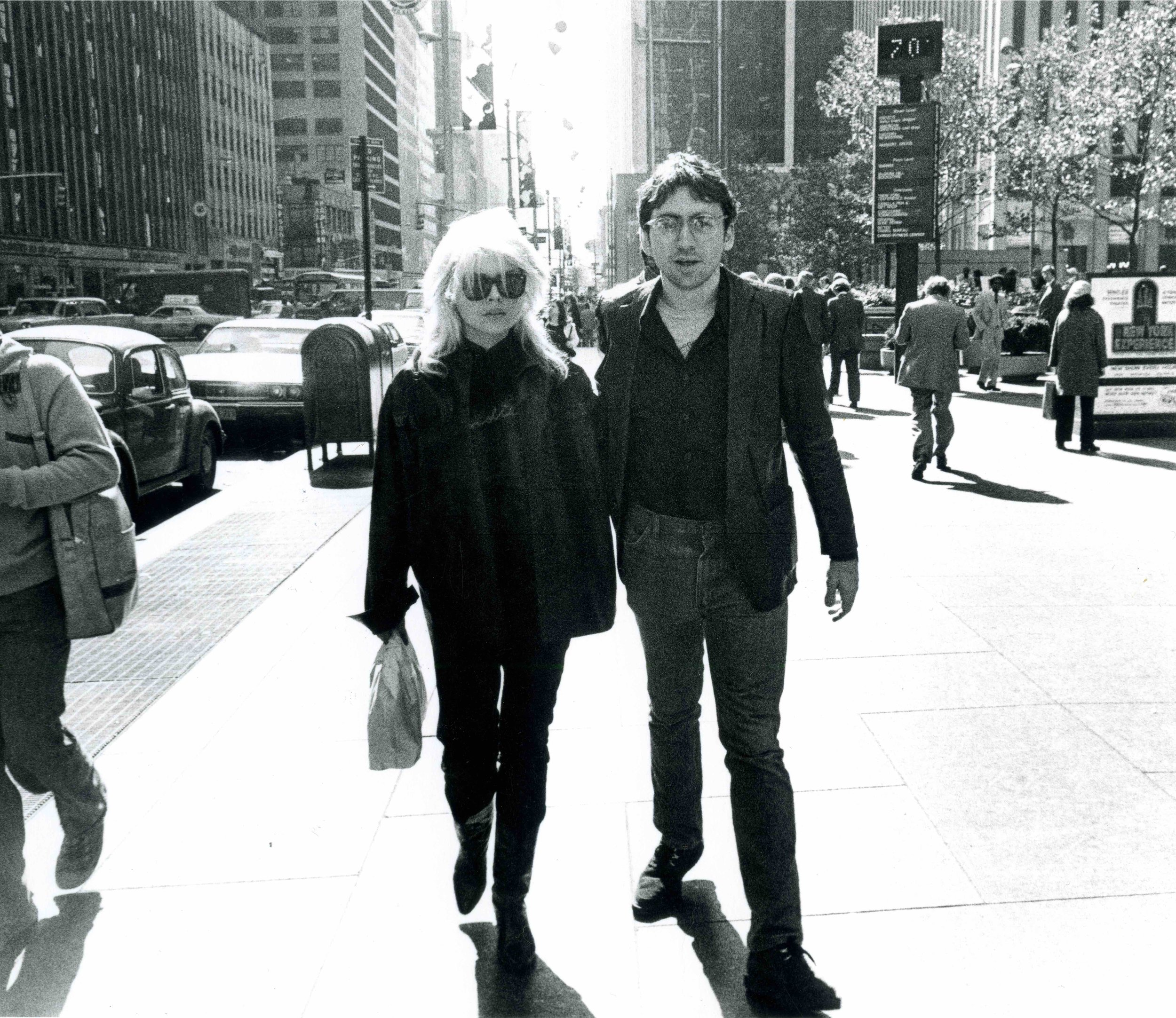 Debbie Harry and Chris Stein 1978