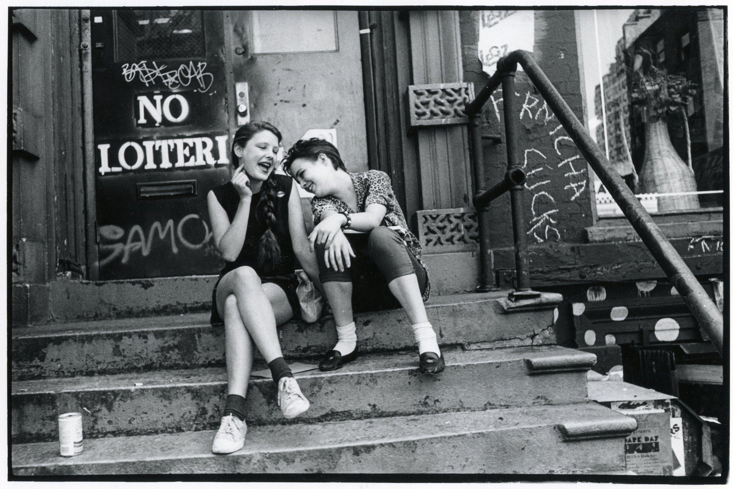 Samo Girls East Village 1980