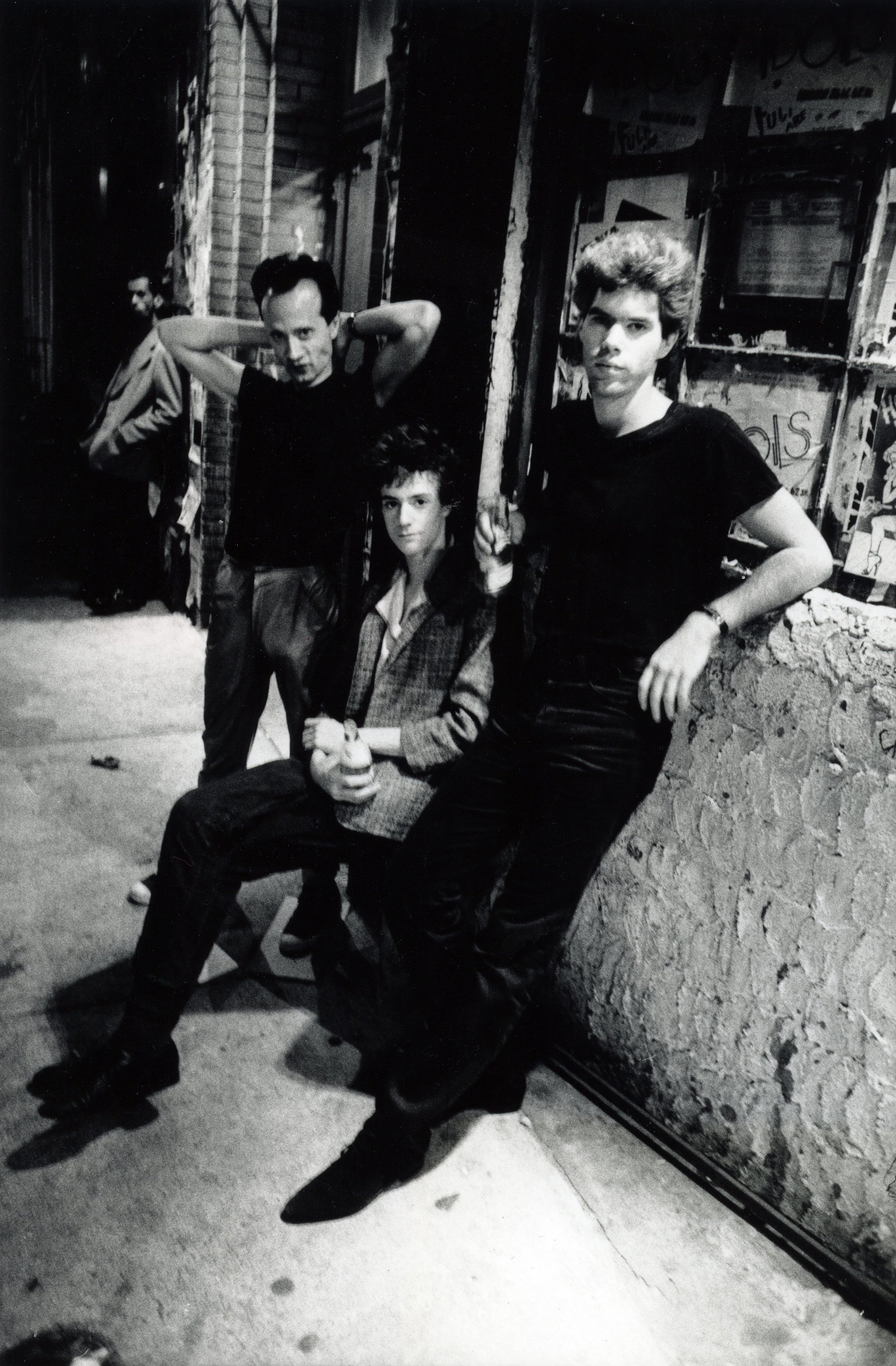Jim Jarmusch, Christopher Parker and Klaus Nomi 1978