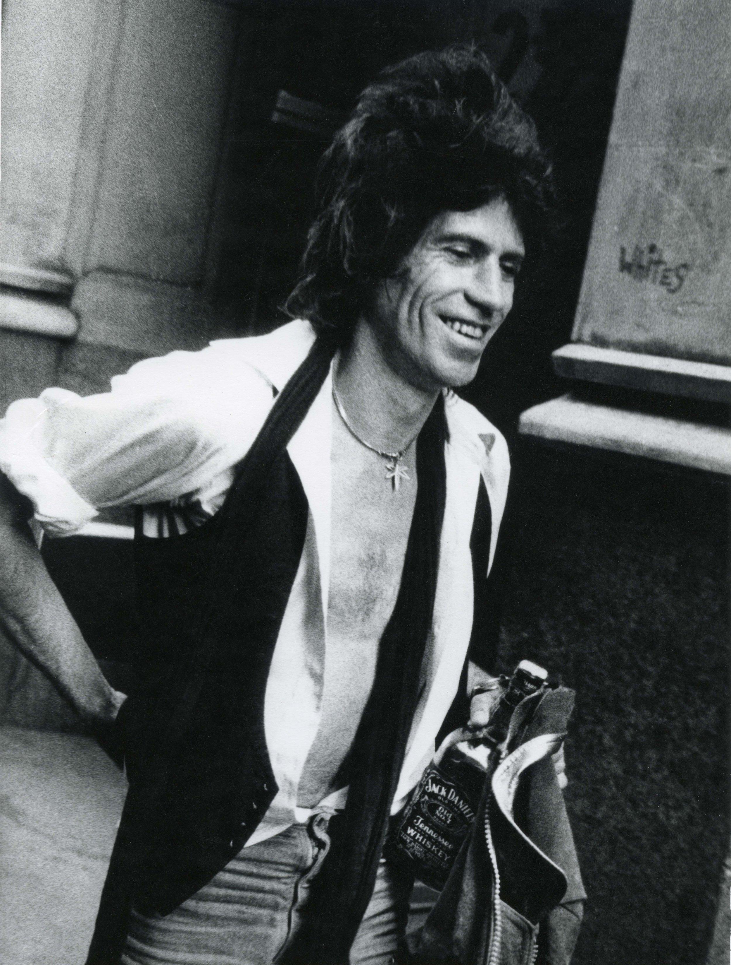 Keith Richards, New York City, 1980
