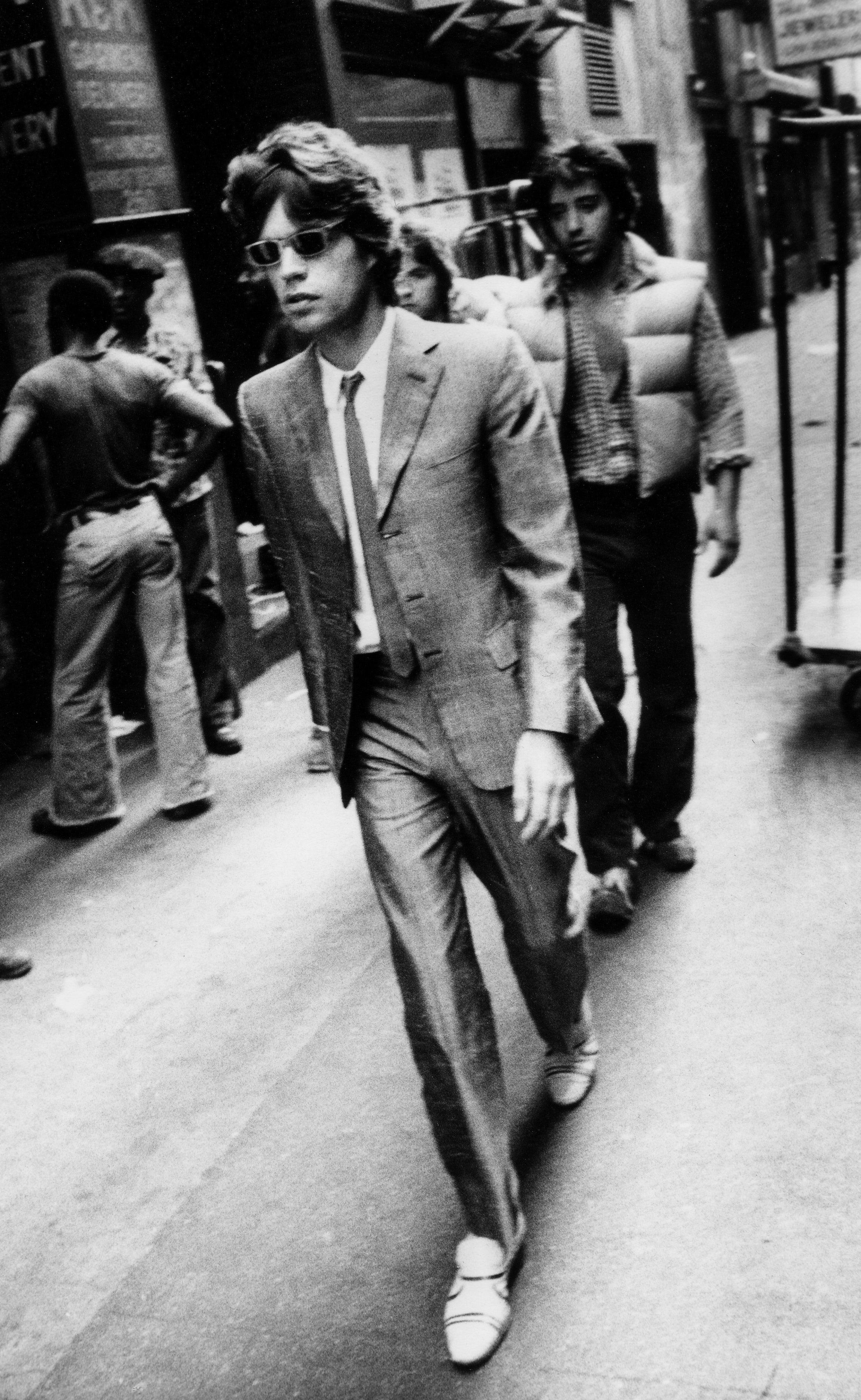 Mick Jagger, New York City, 1980