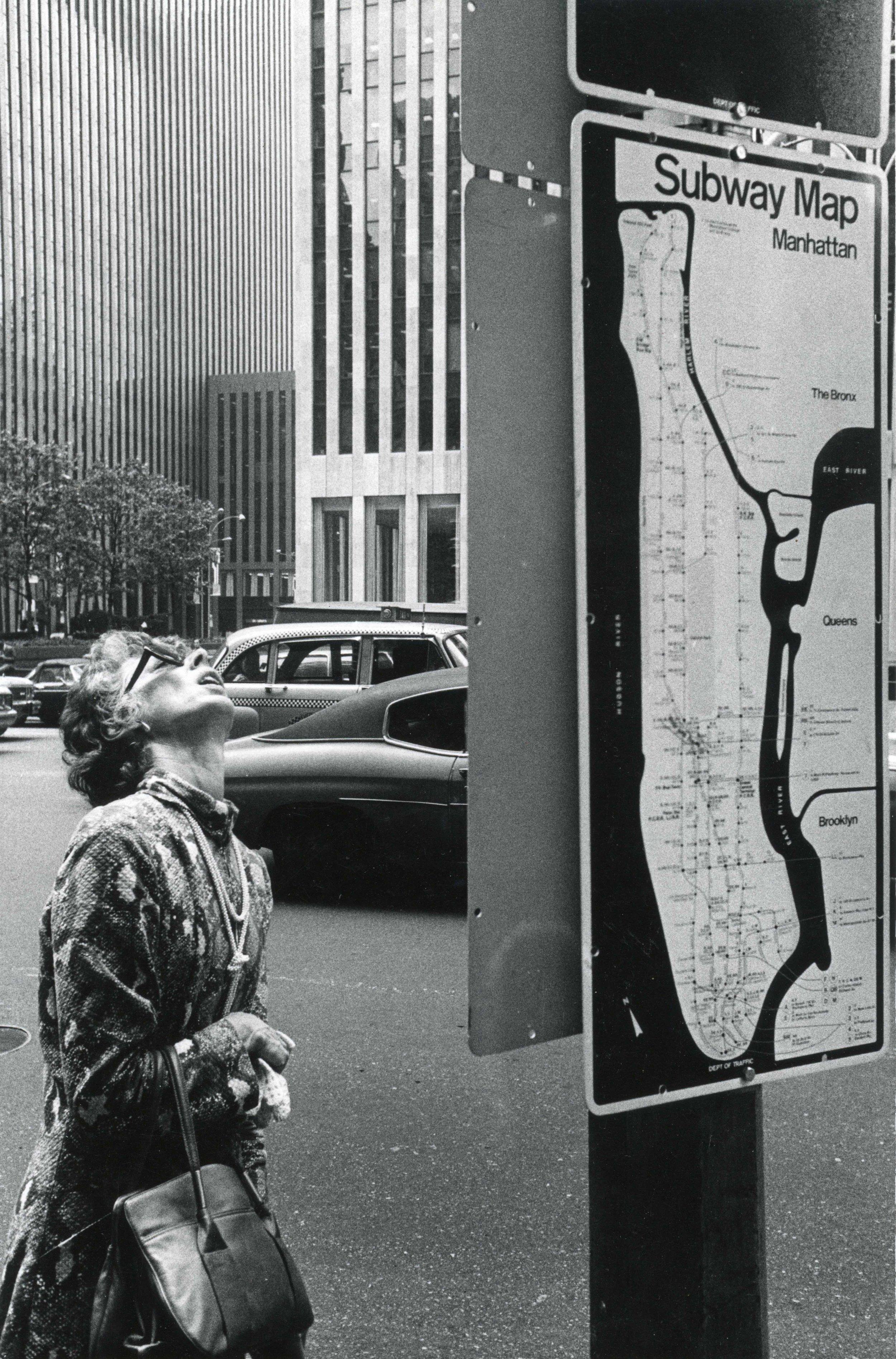 Subway Map 1976