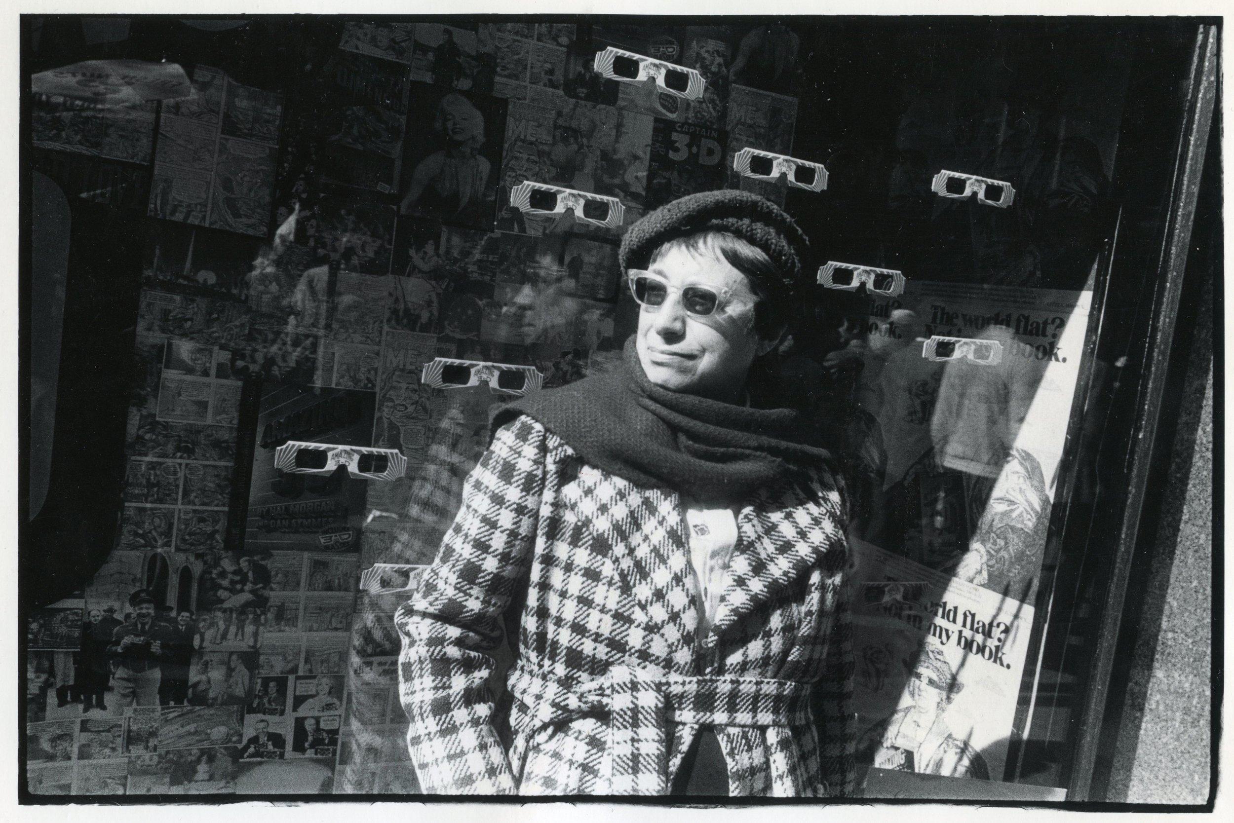 3D Glasses, New York 1983