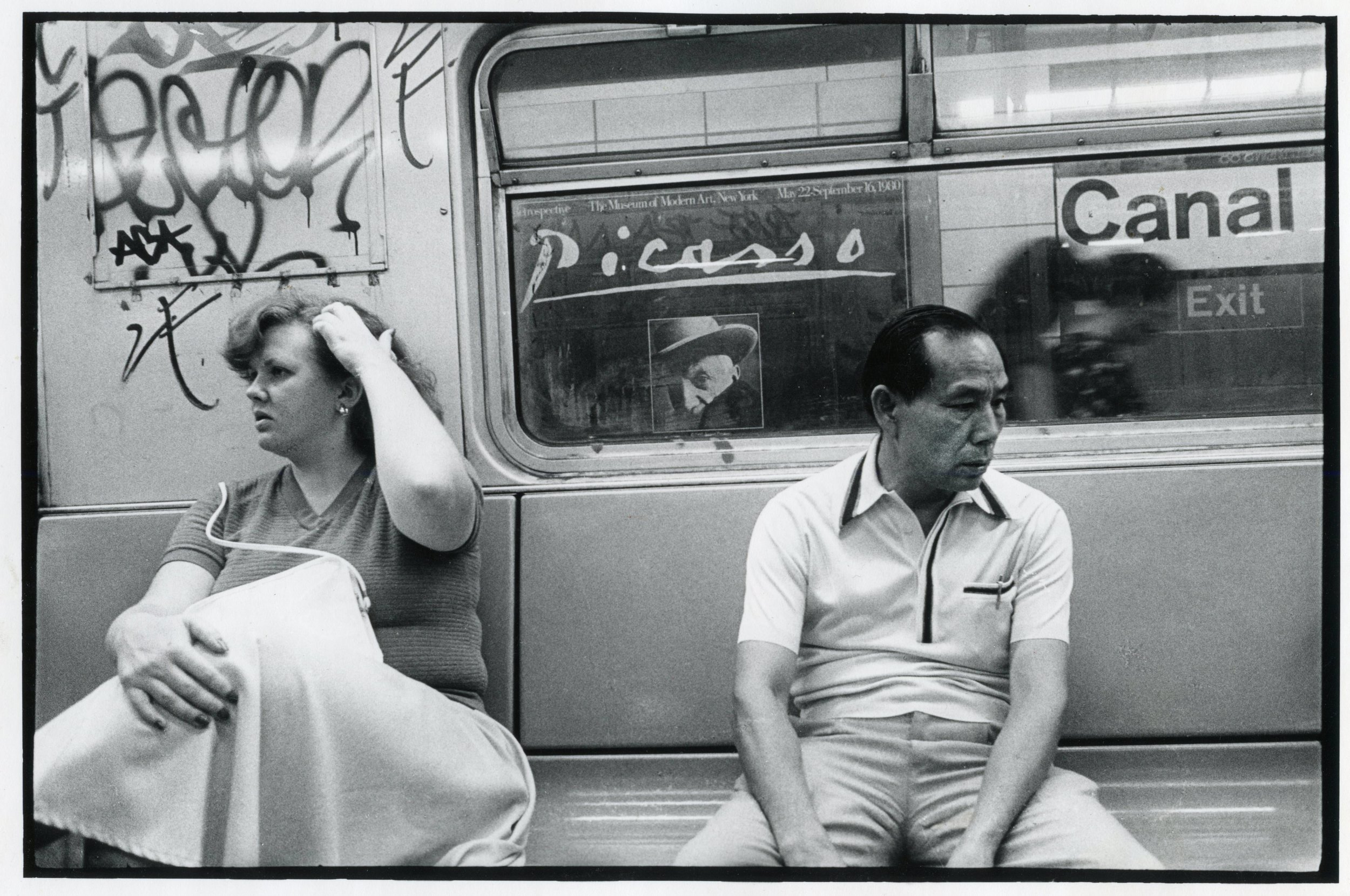 Picasso Subway, New York 1980
