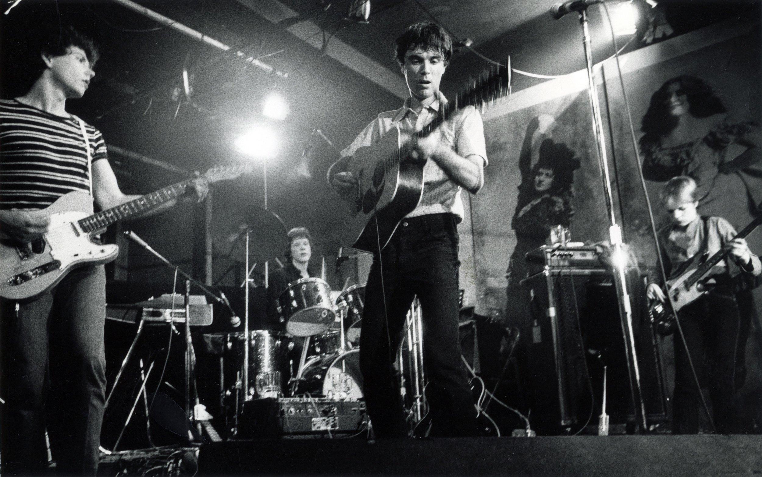 Talking Heads, CBGB 1977