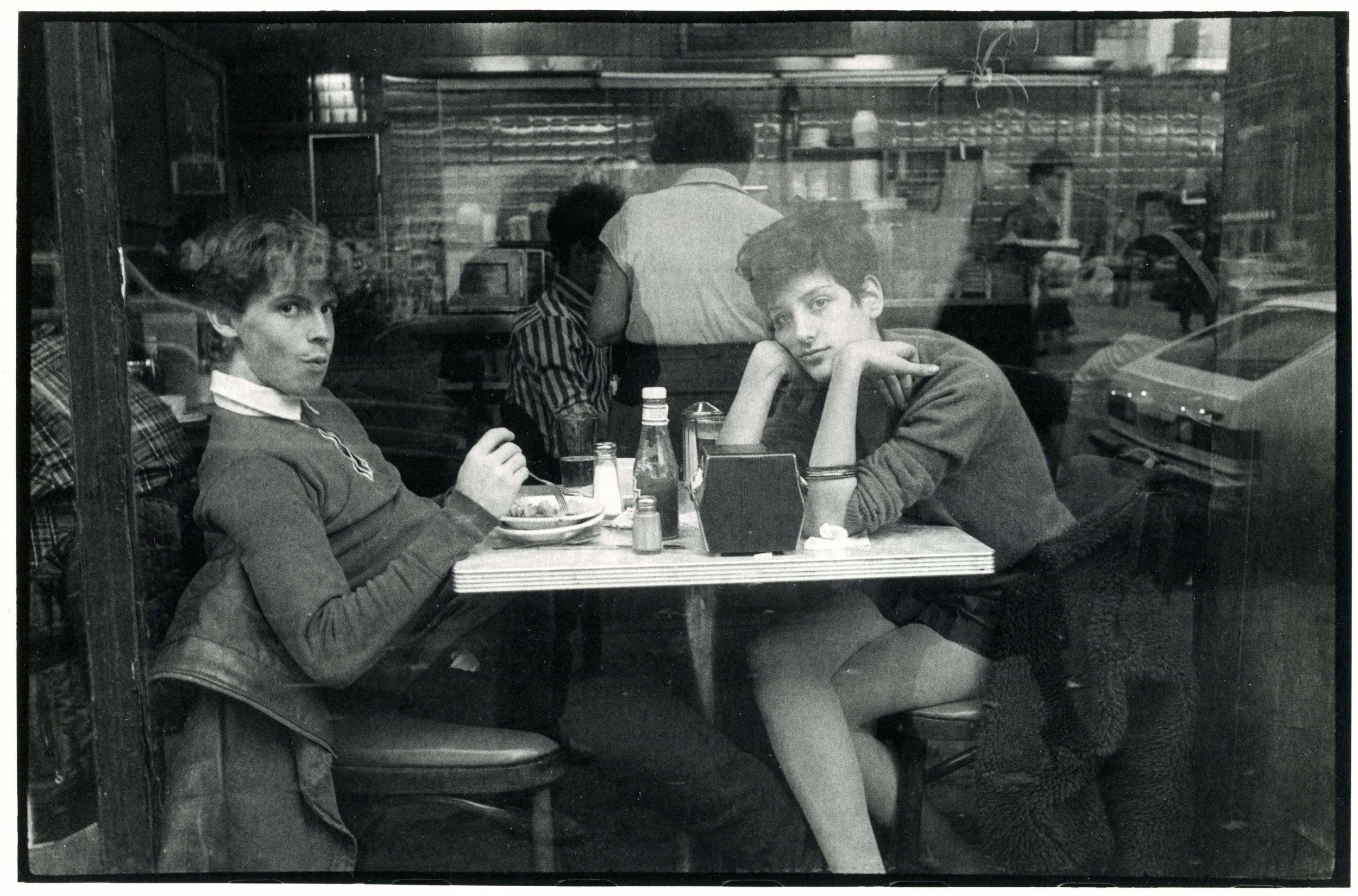 Love at Veselka, East Village 1982