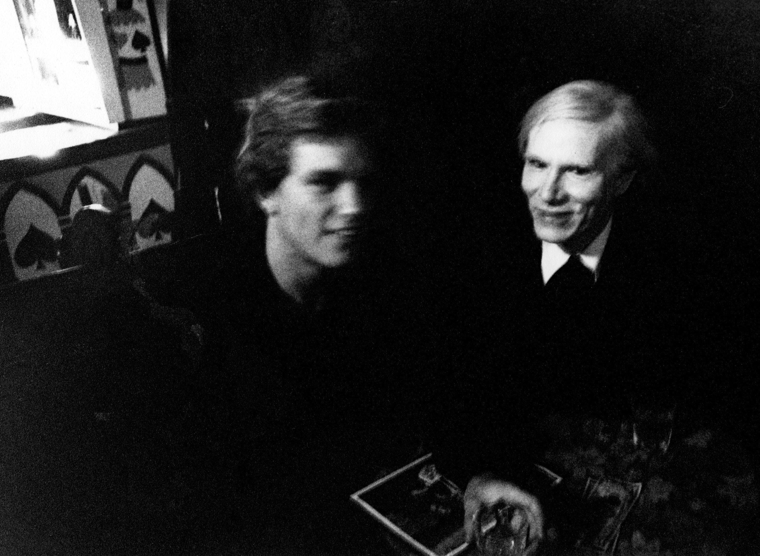 Andy Warhol at CBGB's 1977