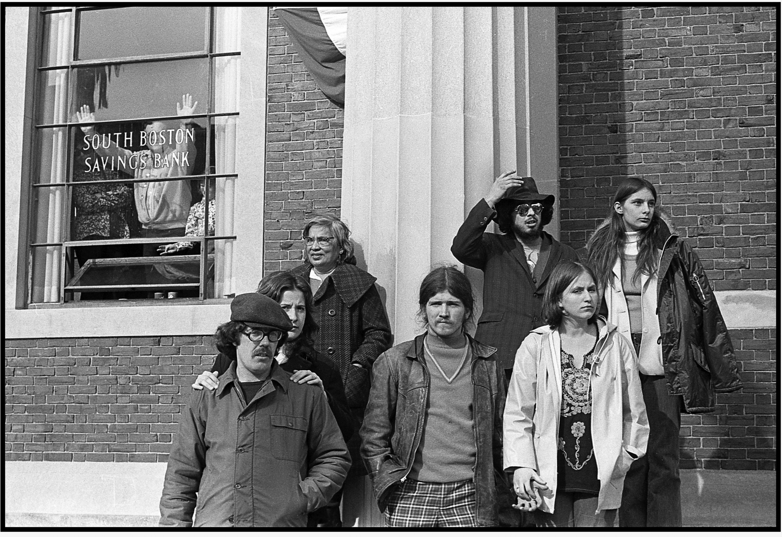 St Patrick's Day Parade, Boston 1974