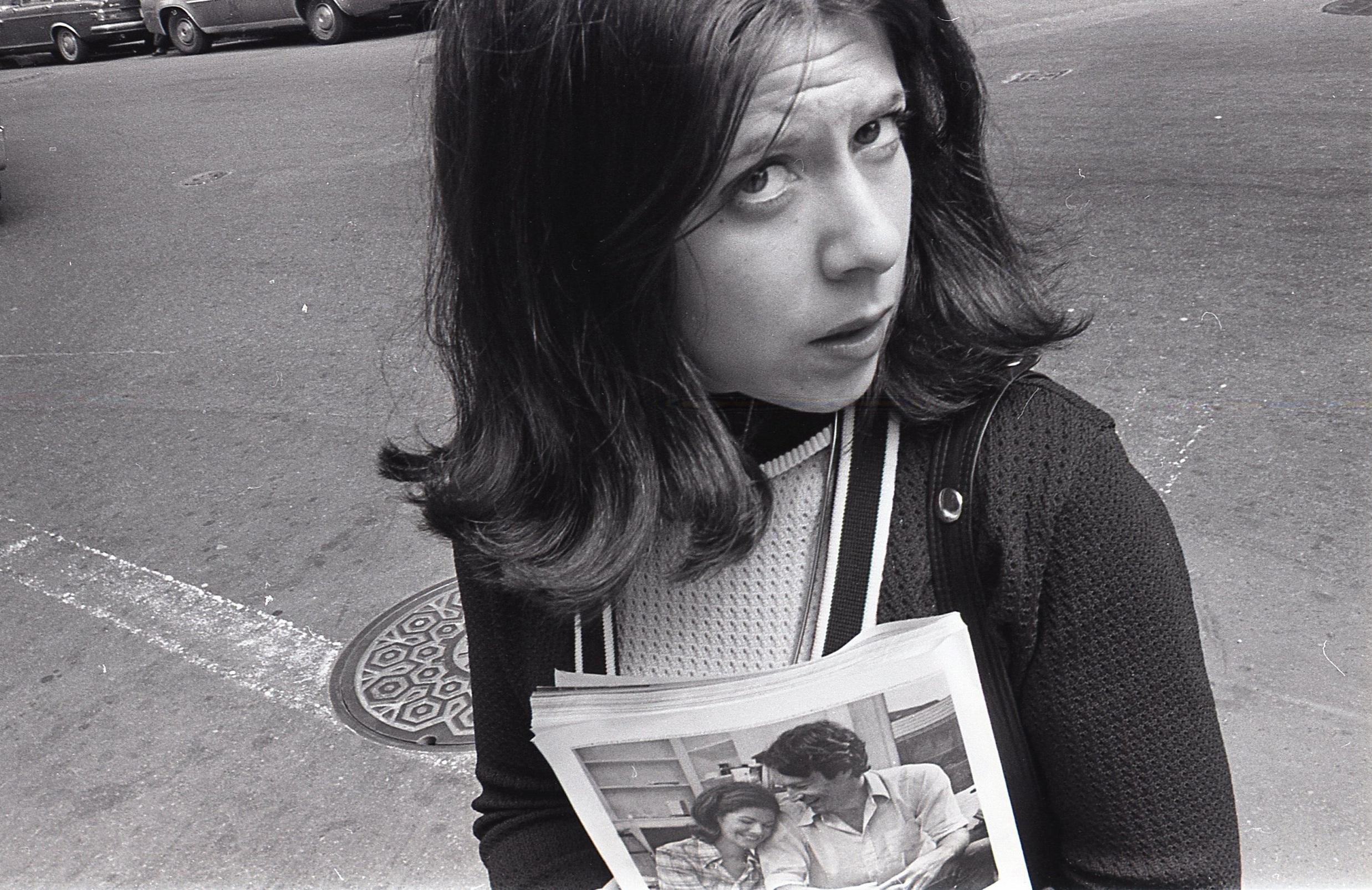 Girl With Magazine, Boston 1974