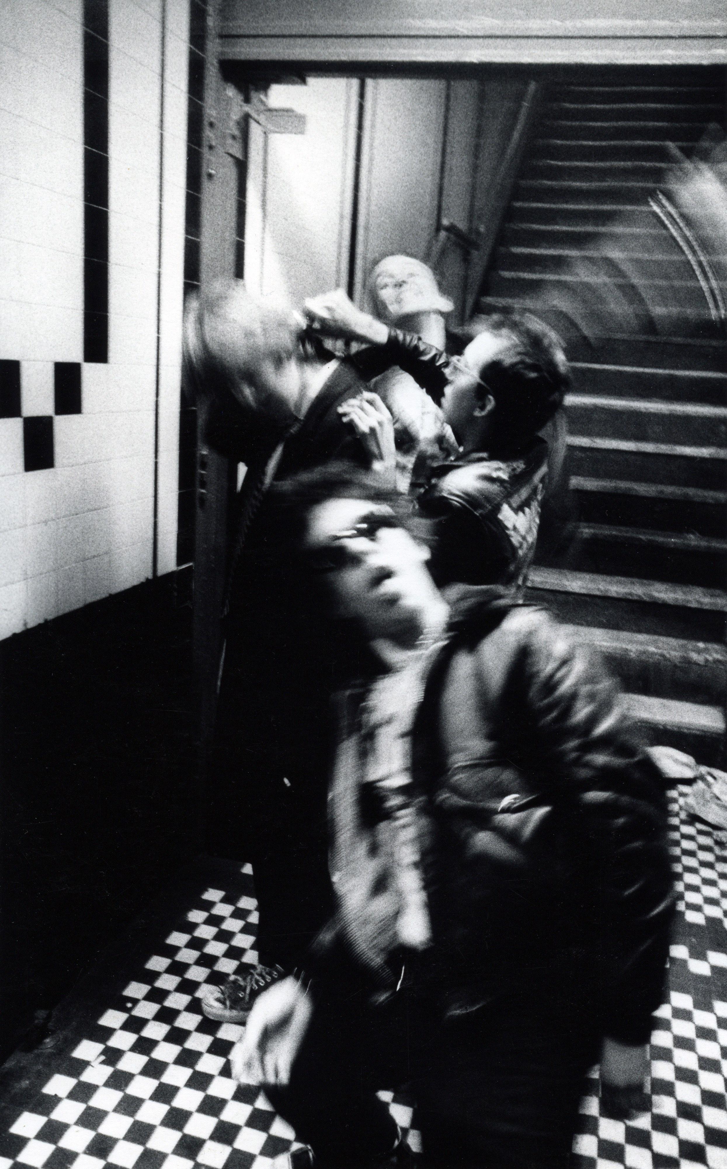 Punk Haircut, CBGB's 1977
