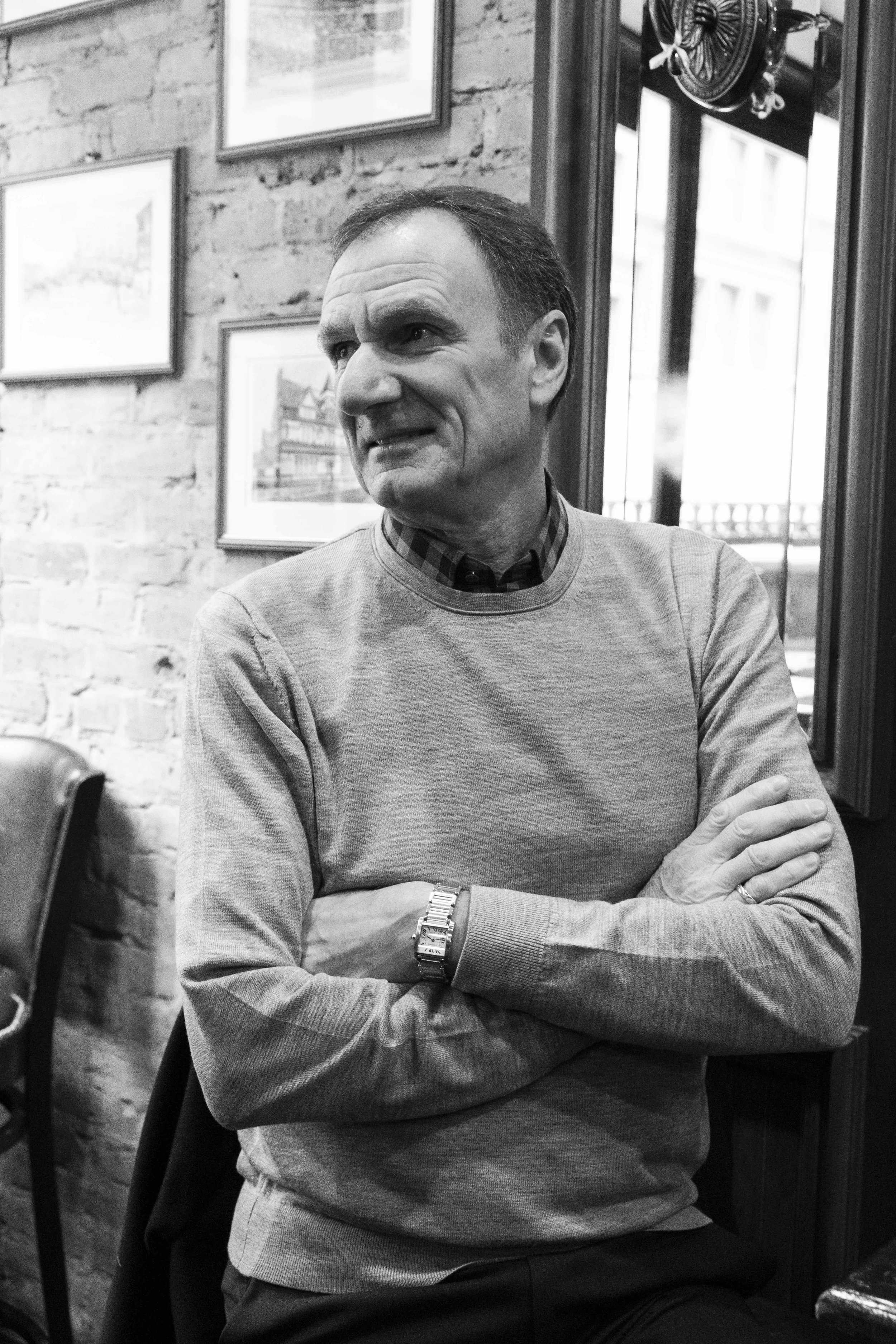 Phil Thompson at Carragher's New York City
