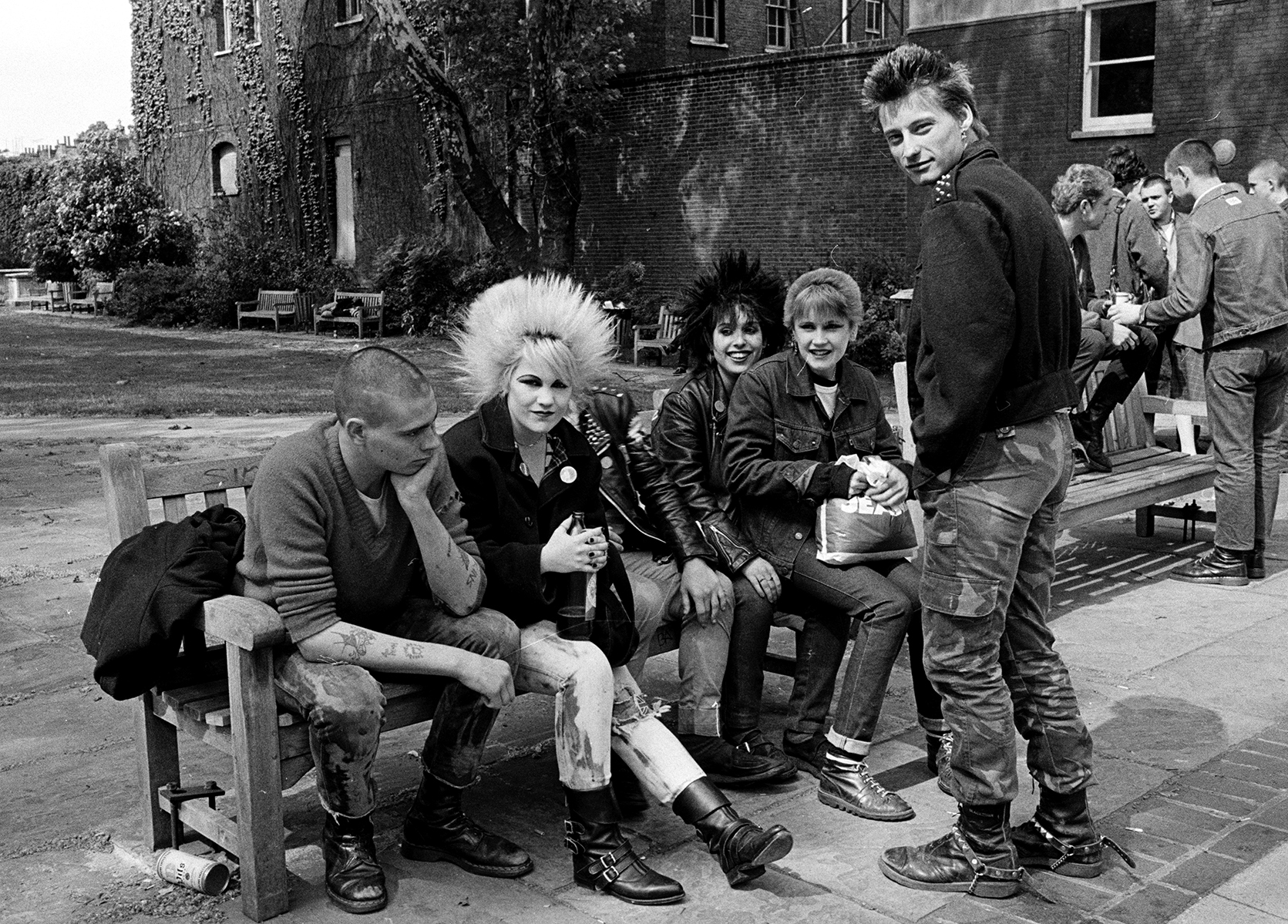 Punks on the Kings Road by Janette Beckman courtesy of Fahey/Klein