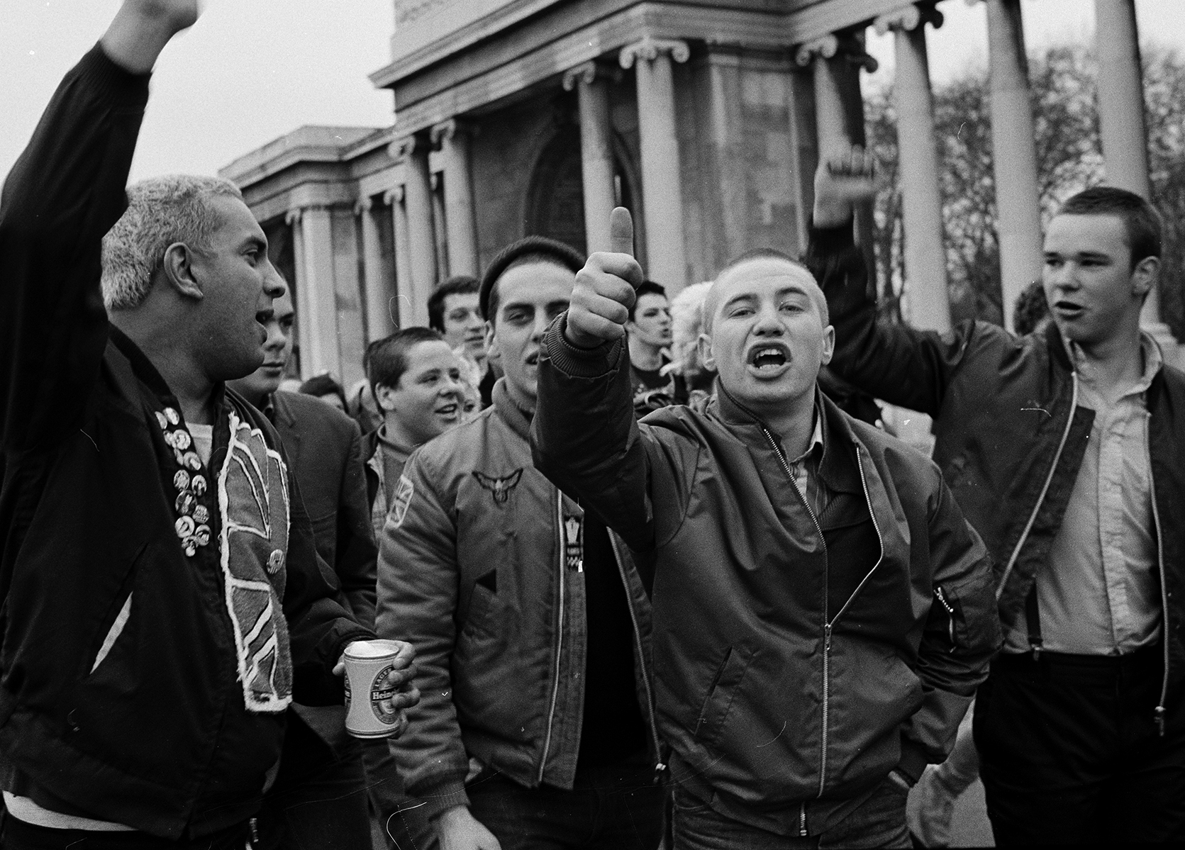 Skinheads by Janette Beckman courtesy of Fahey/Klein