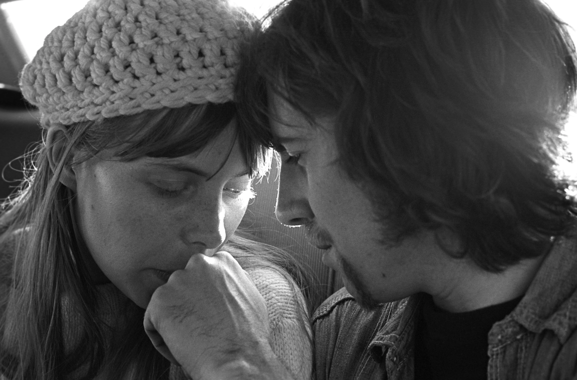 Joni Mitchell and Graham Nash by Henry Diltz 1969