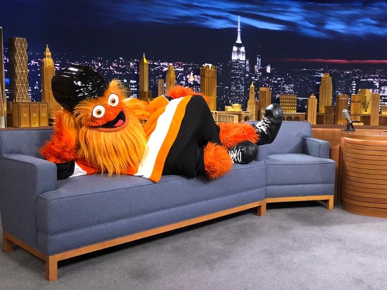 Gritty on  The Tonight Show