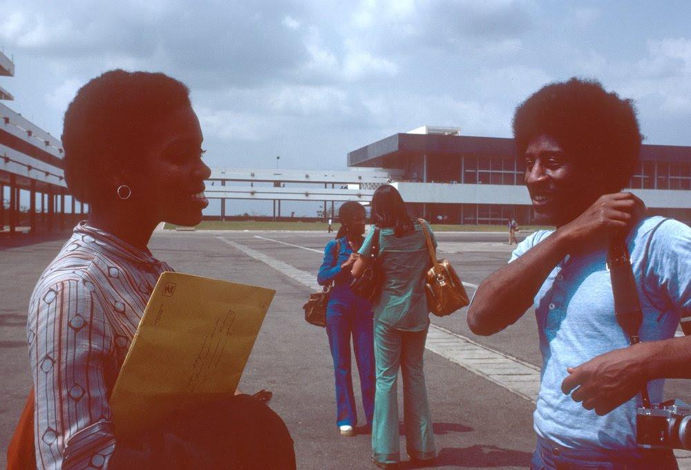 The airport in Monrovia, Liberia en route to Lagos/Calvin Reid