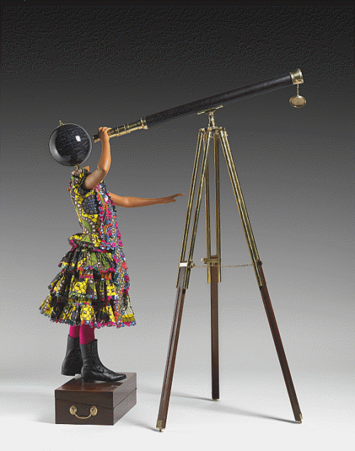 Yinka Shonibare ,  Planets in My Head, Physics , 2011.