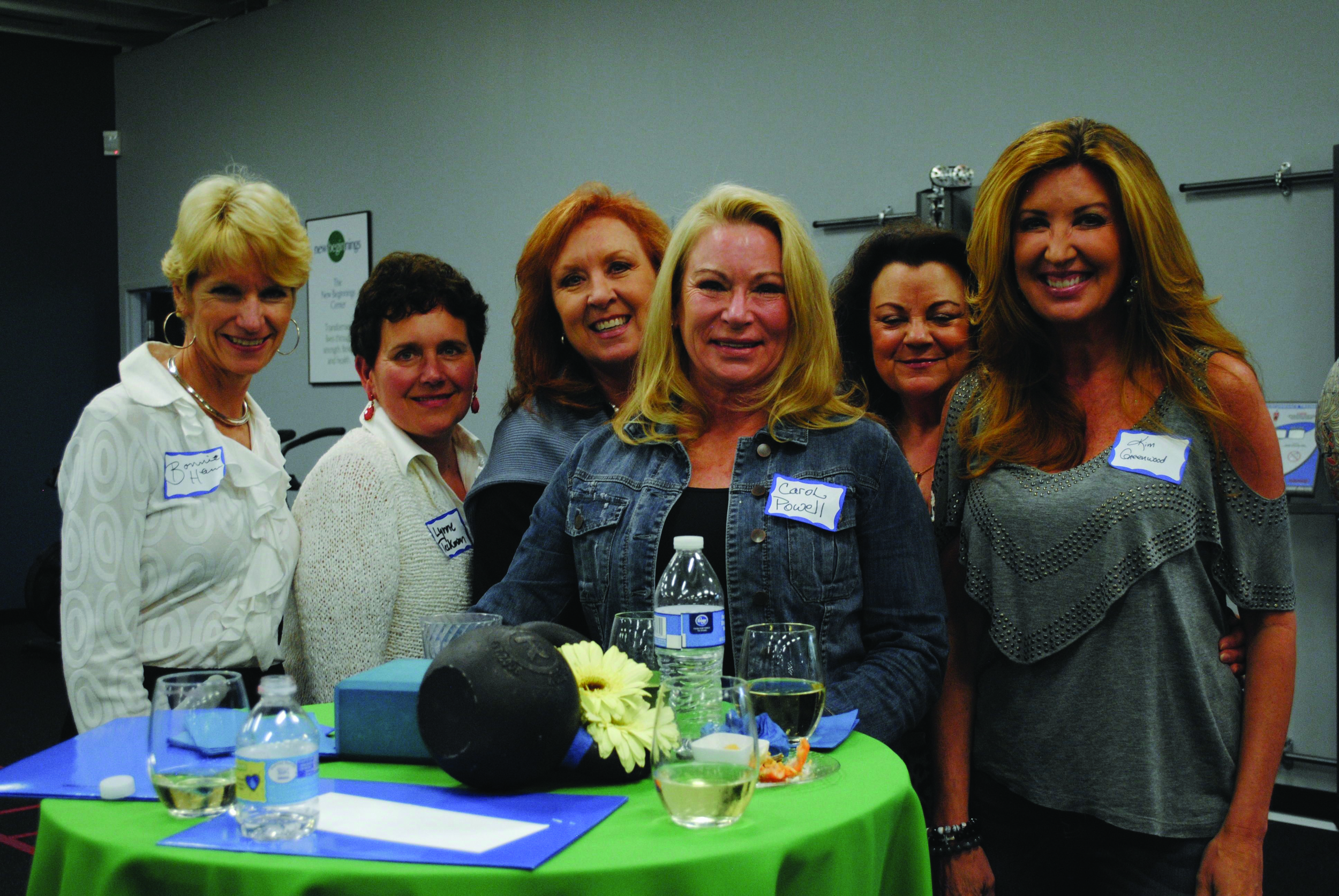 Bonnie Heim, Lynne Heckman, Lana Suiter, Carol Powell,  Sharon Piper and Kim Greenwood