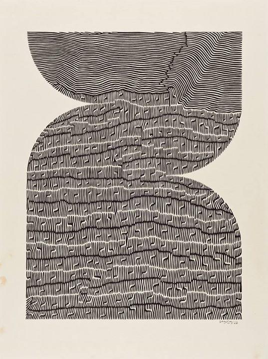 aubreylstallard :   Ivan Serpa, Untitled , 1968
